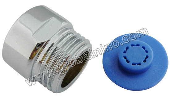 "G1/2"" Male&Female thread shower connector with shower restrictor"